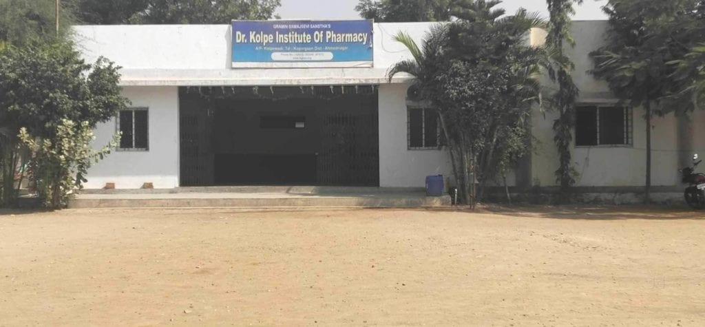DR KOLPE INSTITUTE OF PHARMACY, AHMEDNAGAR