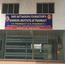 Sai Krupa Institute of Pharmacy