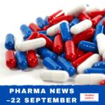 Pharma news – 22 September