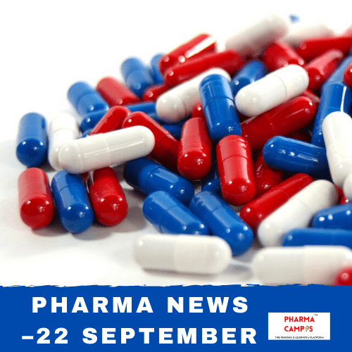Pharma news – 22 September
