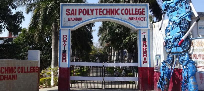 Sai Polytechnic College, Pathankot, Punjab